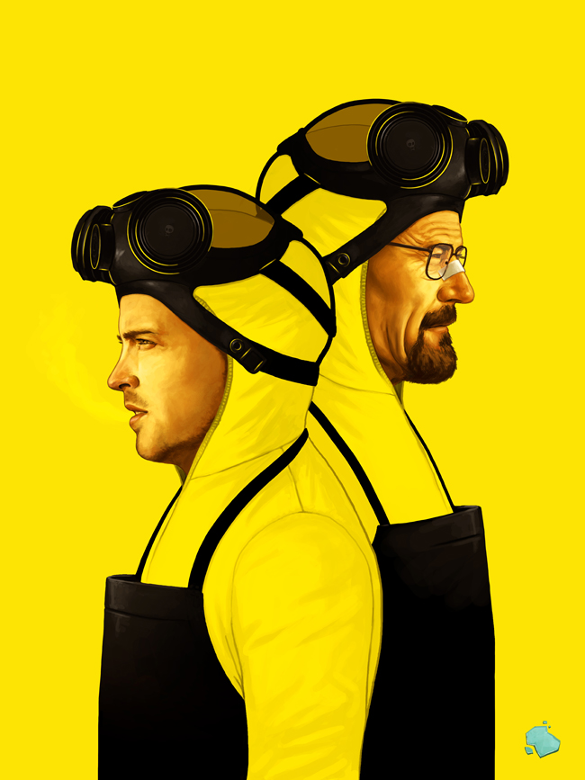 Ilustraciones Breaking Bad
